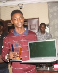 2016 Overall Best Student Oyedele Demilade